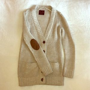 Zara Knit Long Buttoned Cozy Fall/Spring Sweater.